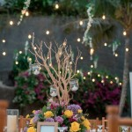Rustic Purple & Yellow Wedding at The Edge