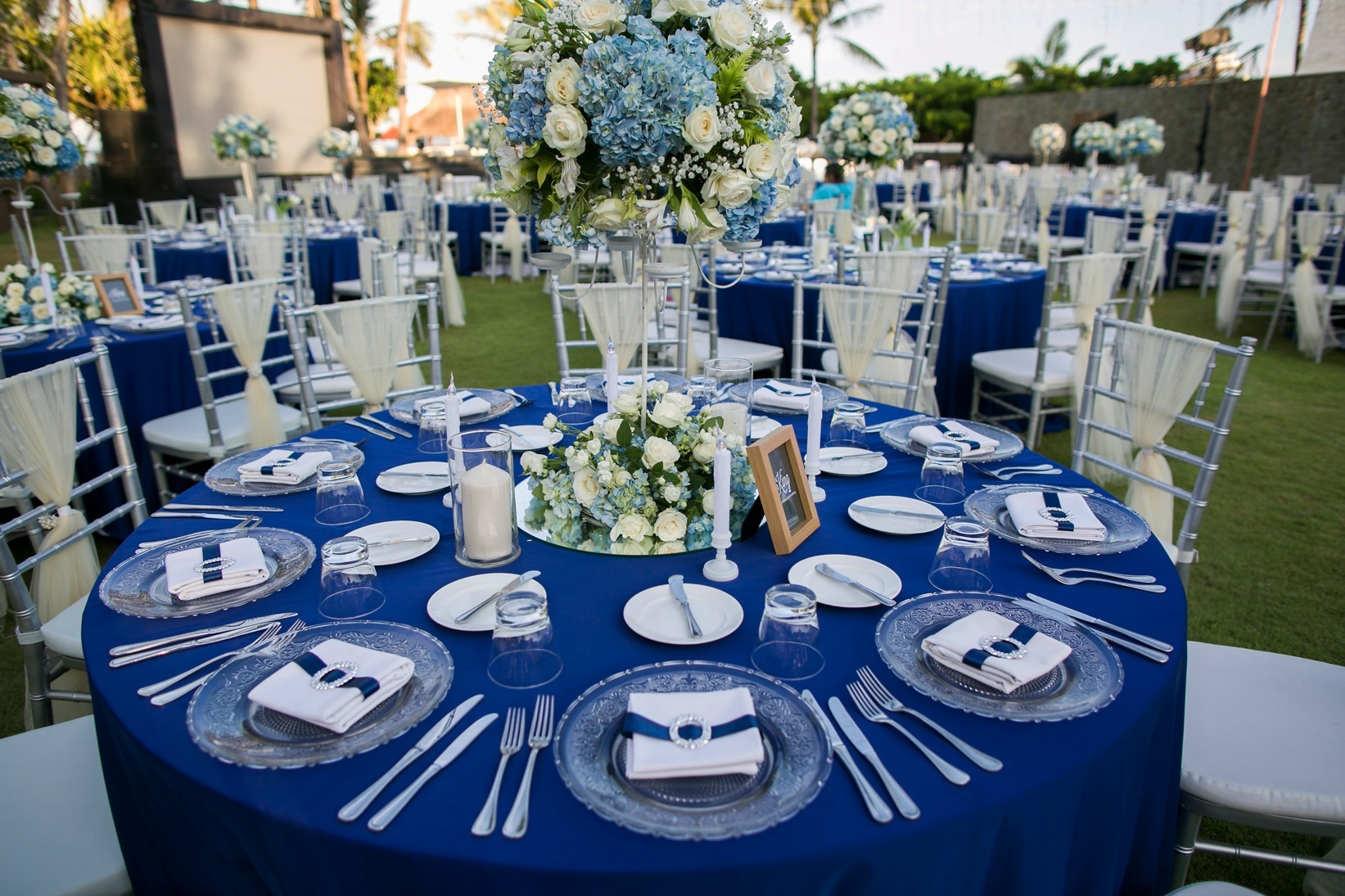 wedding ideas royal blue and silver royal santrian royal blue amp silver wedding 27917